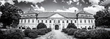 Marchegg城堡,奥地利,无色 免版税库存照片