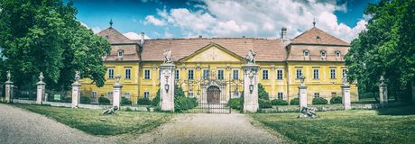 Free Marchegg Castle, Austria, Analog Filter Royalty Free Stock Photography - 122338177