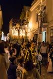 Marchena СЕВИЛЬЯ, ИСПАНИЯ - 12-ое апреля 2017: Стоковое фото RF