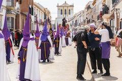 Marchena SEVILLE, SPANIEN - mars 25, 2016: royaltyfria foton
