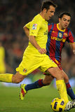 Marchena of Villarreal CF Stock Images