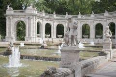 Marchenbrunnen bajki fontanna, Berlin Zdjęcia Royalty Free