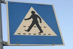 Marchent de cette façon ! Photographie stock libre de droits