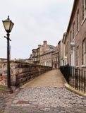 Marchent les murs au format de verticale de Berwick Image stock
