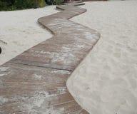 Marcher-panneau de plage photo libre de droits