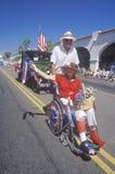Marchers in 4 de Parade van Juli, Ojai, Californië Stock Fotografie