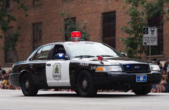 Royal Canadian Mounted Police Car In Edmonton Albe Stock Photo