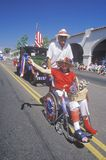 Marchers in July 4th Parade, Ojai, California Stock Photography