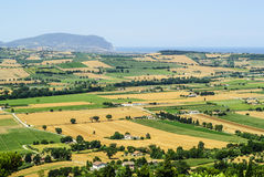 Marches (Italy) - Landscape Royalty Free Stock Photos