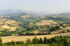 Marches, landscape at summer Royalty Free Stock Photos