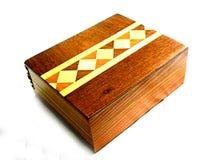 Marchetaria em caixa de madeira Stock Photography