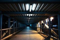 Marcheur de pont Photo stock