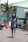 Marcheurs d'échasse de steampunk de Dragon Knights Image libre de droits
