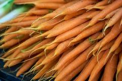 marchew organiczne Zdjęcie Royalty Free