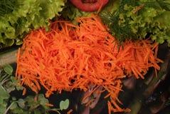 marchewek posiłku warzywa Zdjęcie Stock