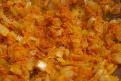 marchewek posiłku warzywa Zdjęcia Stock