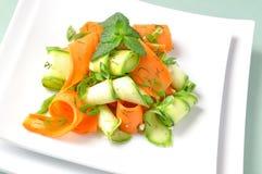 marchewek sałatki zucchini Zdjęcie Royalty Free