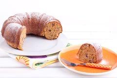 Marchewka tort zdjęcie stock