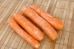 marchewki świeże Obraz Stock