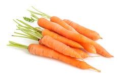 marchewki świeże Zdjęcie Stock
