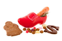 Marchewki dla Sinterklaas Obraz Royalty Free