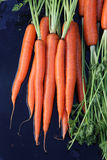 marchewki organicznie świeży Obrazy Royalty Free