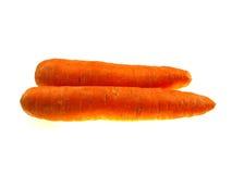 marchewki pomarańcze dwa Obrazy Stock