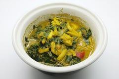 Marchez en crabe le ragoût, chiez l'immersion de lait caillé, fermentez le crabe de piment, nourriture thaïlandaise photographie stock