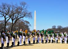 Marching Band. Royalty Free Stock Image