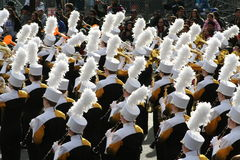 Marching Band. In the Rose Parade, January 1,2013 Royalty Free Stock Images