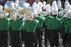 Marching Band. Image of a marching band performing stock image
