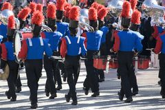 Marching Band. Image of a marching band performing royalty free stock image