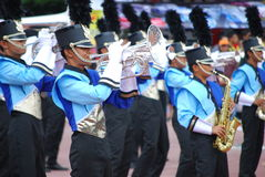 Marching Band. SUPER GT SERIES 2008 � MALAYSIA on 22nd June 2008 stock photos