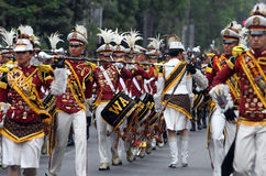 Marching band Royalty Free Stock Photography