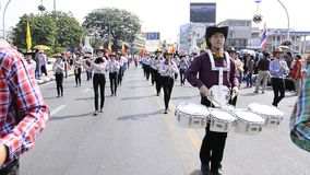 Marching Band. stock footage