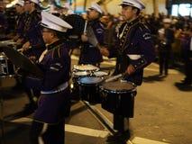 Marching Band at the Chineese Parade 2016 San Francisco CA Stock Images