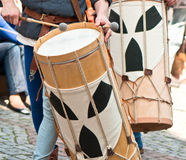 Marching band drummers. Germany-Bretten Stock Photos