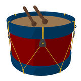 Marching Band Drums Illustration Stock Photos