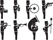 Marching Band Stock Image