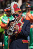 Marching band member Stock Images