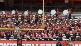 Marching Band, Music Performance stock video footage