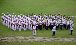 Marching Band of Pakistan Army! Stock Image