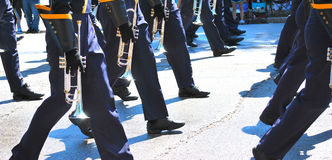 Marching band. Royalty Free Stock Images