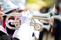 Marching Band, Royalty Free Stock Images