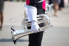 Marching Band, Royalty Free Stock Photography