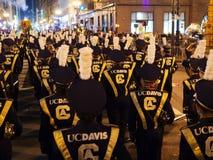 Marching Band from UC Davis at Parade 2016 San Francisco CA Royalty Free Stock Photography