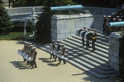 Marching Band, United States Naval Academy, Annapolis, Maryland Royalty Free Stock Image
