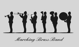Back in black marching band