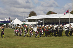 Marching brass band Royalty Free Stock Photo