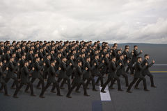 Marching Clones Stock Image